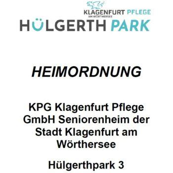 Klagenfurt Pflege Hülgerthpark